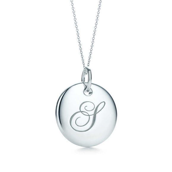 94c223eb2 Tiffany Notes Alphabet disc charm pendant S. M_5ae3259dfcdc31203b76844d.  Other Jewelry ...